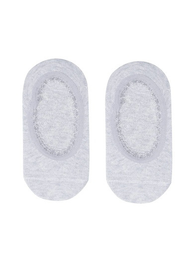 Katia & Bony Gümüş Simli Çocuk Basic Görünmez Çorap  Gümüş